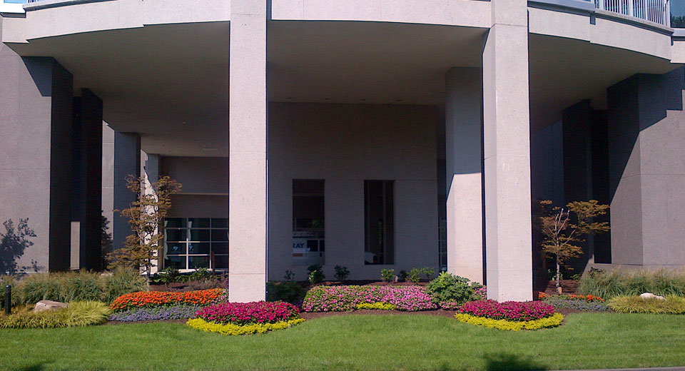Office Building Landscaping
